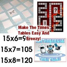 The Fun Times Tables: 17 Ways To Make Memorizing Multiplication Facts Easy and Breezy!