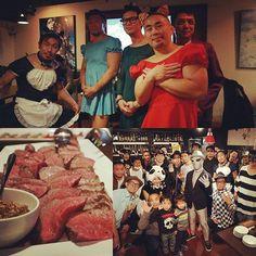 面白い、そして楽しく、 色々なイベント盛りだくさん!先日は渋谷で #ハロウィン #肉 祭り  美味しいお肉たっぷり、お酒も飲み放題! #BAR #レベッカ  トイカツ道場グループ #都内15店舗 どこでも #通い放題 #吉祥寺 にも近日オープンです。!! おすすめ  ファイトフット新宿西口駅前の無料体験は、 https://tkdj.net/dojo/shinjuku2/ #新宿 #渋谷 は、 #護身術 がレアで好評です!  #ボクシング #キックボクシング #格闘技 #ボクシング女子 #キックボクシング女子 #ダイエット #痩せる #美容 #健康 #痩せる  #ボディメイク #ストレッチ #無料体験 #boxing #kickboxing #gym #diet #beauty #training