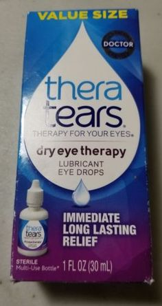 TheraTears® products are a unique science-based therapy designed to be used together.