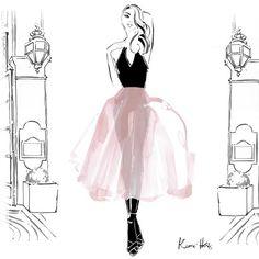 Kerrie Hess Illustrator @kerriehessillustration All black and a f...Instagram photo | Websta (Webstagram)