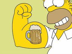 Tattoos Beers Homer Simpson The Simpsons Wallpaper Homer Simpson, Futurama, The Simpsons, Best Summer Beers, Los Simsons, Desenhos Halloween, High Resolution Wallpapers, American Crafts, Funny Wallpapers