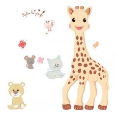 Sophie La Giraffe - Stor - Vægdekoration - Udvalgt Room2Play 25% - Legetøj - SOMMERUDSALG - Tilbud