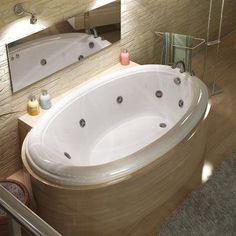 Atlantis Atlantis Drop-in Whirlpool Bathtub #WhirlpoolBathtubs