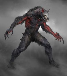 Wulver from God of War #art #illustration #artwork #gaming #videogames #gamer