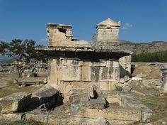 Sarcophahus from the 2nd Century AD at #Hierapolis #Turkey