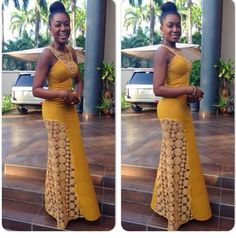 Top Ten Beautiful Aso Ebi Styles Collection For Evening Party  Dabonke