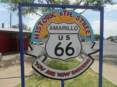 amarillo texas   Amarillo Texas Route 66   Western Trips Route 66 Usa, Old Route 66, Route 66 Road Trip, Historic Route 66, Travel Route, Texas Travel, Travel Usa, Roadside Attractions, Road Trippin