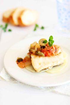 """Cod """"a la Ghiotta"""" /Bacalao a la Ghiotta (typical Sicilian recipe) (receta típica de Sicilia)"""