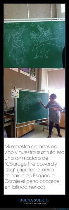 BUENA SUERTE - Los alumnos de esa clase la tienen