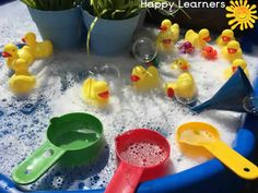 Fun on the Farm Themed Tuff Tray Resources and Ideas - Ducks on the Farm Tuff Tray Small World Scene for Toddlers-EYFS Children - Nursery Activities, Rhyming Activities, Farm Activities, Animal Activities, Easter Activities, Spring Activities, Infant Activities, Tuff Tray Ideas Toddlers, Farmer Duck