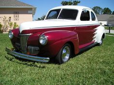 Old Classic Cars 1941 Ford Coupe...Re-pin brought to you by #bestrate #CarInsurance at #HouseofInsurance Eugene