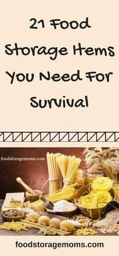 21 Food Storage Items You Need For Survival