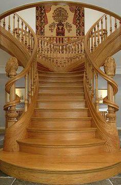 Art Nouveau - Magnifique Escalier