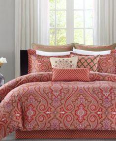 CLOSEOUT! Echo Aberdeen Comforter and Duvet Sets
