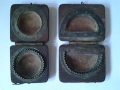 A lovely pair of 1930's  40's patty making moulds by Lallibhai, £20.00