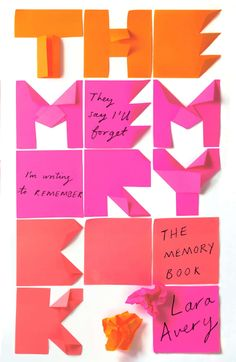 The Memory Book, book cover designed by Sinem Erkas. Winner of ABCD - Young Adult