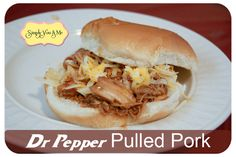 Simply You and Me: Dr Pepper Pulled Pork (take two)