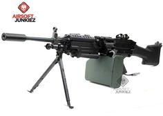 Airsoftjunkiez Hydra Custom M249 Mk2