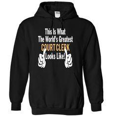 COURT CLERK - LOOKLIKE T Shirt, Hoodie, Sweatshirt