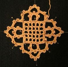 Venetian Crochet: Patterns For 1915 Motif, Collar and Lace Edging, Needlecraft Publishing Co., Published 1915.
