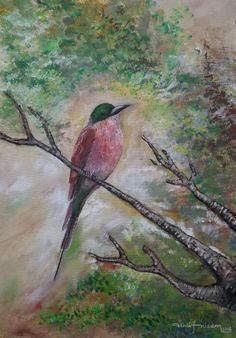 #ümitsanat #ümitnizam #kuş #yağlıboya #resim #izmirdesanat #Ümitasarim içmimarlık ve uygulama  #ümitasarım #izmir #sanat #okulu #urla