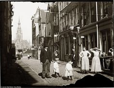 Life goes on: A scene from Grote Houtstraat, located close to the red light district in Am...