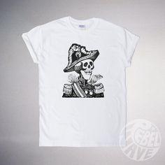 Hey, I found this really awesome Etsy listing at https://www.etsy.com/uk/listing/209261254/on-sale-tattoo-illustration-skull-tshirt