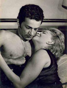 Tônia Carrero e Nelson Xavier 1968.