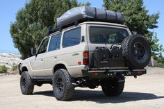 TLC 4x4 FJ60 Adventuremobile