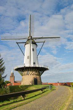 ˚Windmühle Ijzendijke - Netherlands