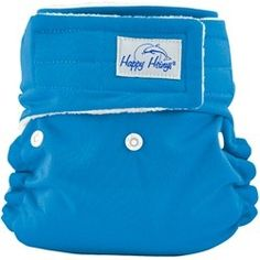 For the baby on the go, this Aqua diaper is perfect!