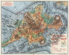 1000 Images About MapsBoston On Pinterest  Boston Maps