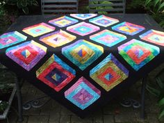 batikquiltontable2  Fabric Freedom UK