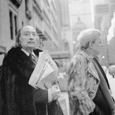 Dali and Lacan - the ego always arrives after the id which lags behind to read tomorrow's newspaper