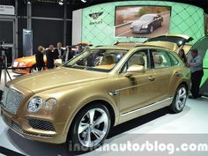 Slideshow : Bentley Bentayga launched in India at Rs 3.85 crore - World's fastest SUV Bentley Bentayga launched at Rs 3.85 crore - The Economic Times