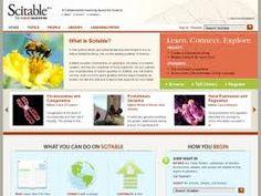 Scitable es una biblioteca libre del Nature Publishing Group que incluye herramientas de aprendizaje, sobre todo en los campos de la Genética y la Biología Celular.