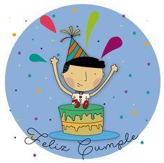 Feliz cumpleaños HBD Happy birthday