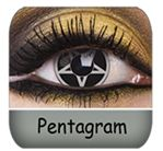 Pentagram Contacts Look Freaky $33.99 a Pair :)