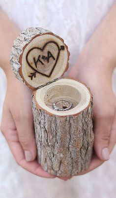 cutest ring box idea