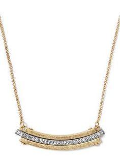 Art Nouveau Delicate Necklace | Banana Republic
