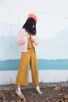 currently obsessed with: pink and mustard...