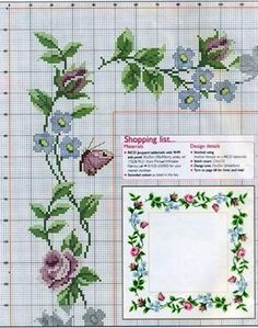 ru / Фото - ROSES I just wouldn't do the butterflies Cross Stitch Heart, Cross Stitch Borders, Cross Stitch Flowers, Cross Stitch Designs, Cross Stitching, Cross Stitch Embroidery, Embroidery Patterns, Cross Stitch Patterns, Cross Stitch Collection