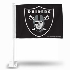 Official NFL Oakland Raiders Car Flag 241872