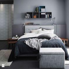 Półki nad łóżkiem - jak je wykorzystać i jak je udekorować? - zdjęcie od cleo-inspire - Sypialnia - Styl Nowoczesny - cleo-inspire