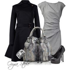 Dressed For The Day Shift - Polyvore