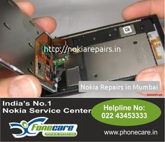 Here comes India's very first organised chain of repair centers pertaining to Nokia Mobile phone  Service center in and also all accross Mumbai. Simply call on 9773261925