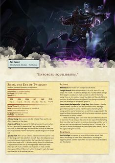 Fantasy World, Fantasy Art, Home Brewery, Dnd 5e Homebrew, Dnd Monsters, Dungeons And Dragons Homebrew, D D Characters, Tabletop Rpg, Monsters