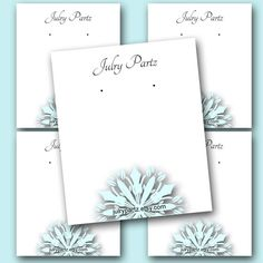 Hey, I found this really awesome Etsy listing at https://www.etsy.com/listing/168272516/snowflake-3-earring-cards-jewelry-cards