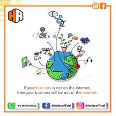Is your business on internet?  Don't worry #hsriar will do it for you.  We are proffessional that know the importance of your business and help you to grow your business online.  Follow Us @hsriar.official ... .. .  Contact Us Email: hsriar.work@gmail.com Whatsapp : +91 9664640420  #hsriar #marketing #socialmedia #promote #business #seo #vadodara #website #webdeveloper #socailposts #startup #onlinepromote #digitalmarketing #socialmediamarketing #smo #smm #ppc #socialmediapost… Social Media Marketing, Digital Marketing, S Mo, Growing Your Business, Don't Worry, Web Development, No Worries, Online Business, Internet
