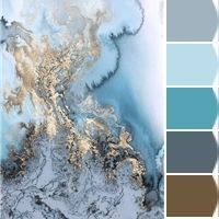 Instantly turn any picture into a palette with ColorSnap, created for you by Sherwin-Williams. Grey And Gold Bedroom, House Color Palettes, Art Studio Design, Acrylic Pouring Art, Marble Art, Colour Pallette, Color Balance, Bedroom Color Schemes, Design Seeds